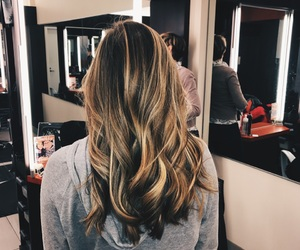 blonde, curled, and hair image