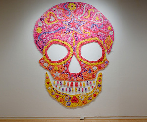 skull and colorful image