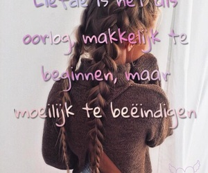 dutch, liefde, and quote image