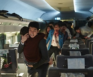 movie, zombies, and train to busan image