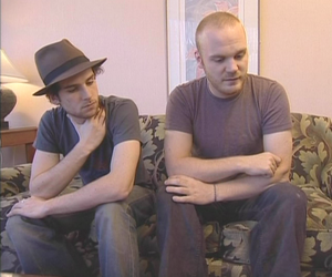 coldplay, guy berryman, and will champion image