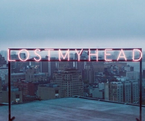 wallpaper, lost, and neon image