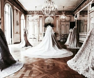 dress, beautiful, and gown image