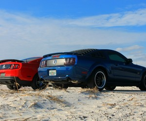 ford, muscle, and gt image