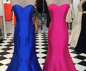 prom dresses, cheap prom dresses, and royal blue prom dresses image