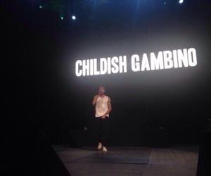 childish gambino, dark, and black image