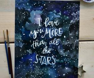 stars, art, and beautiful image