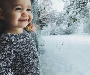 adorable, baby, and happy image