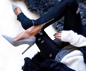 fashion, style, and heels image
