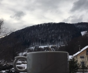 coffee, cold, and view image
