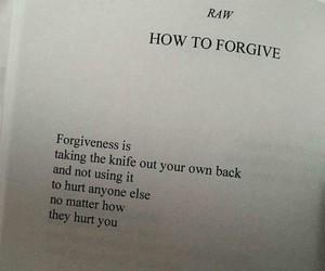 forgive and forgiveness image