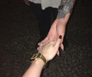 casio, gold, and holding hands image