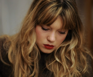 Lea Seydoux, actress, and blonde image