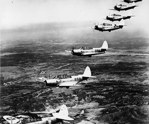 world war ii and tbd-1 devastators image