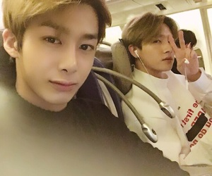 monsta x, hyungwon, and i.m image
