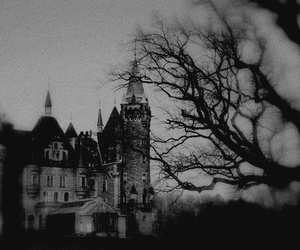 gothic, castle, and dark image