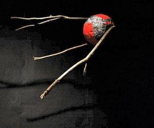 art, installation, and sputnik image