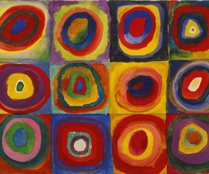 art, circle, and abstract image