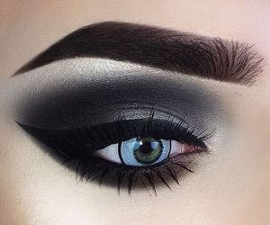 cool, luxury, and makeup image