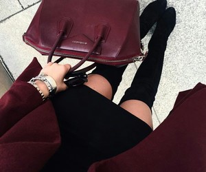 boots, fashion, and winter image