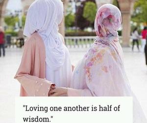 arab, islam, and sisters image