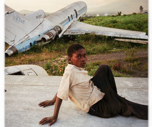 africa, airplane, and black people image