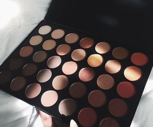 makeup, palette, and shades image