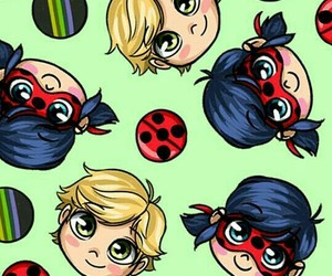 Adrien, Chat Noir, and wallpaper image