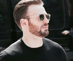 actor, chris evans, and handsome image