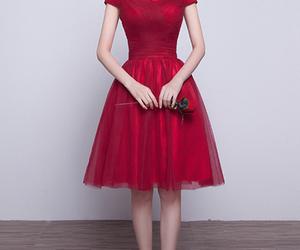 chiffon, evening dress, and formal dress image