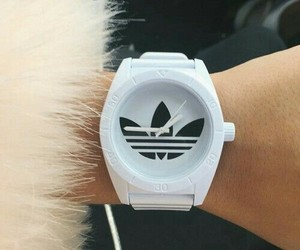 adidas, watch, and style image