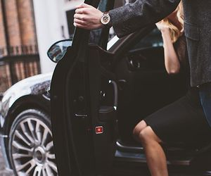 luxury, couple, and rich image
