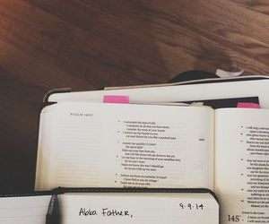 Abba, bible, and father image
