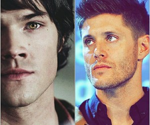 actors, dean winchester, and handsome image