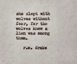 quotes, lion, and wolves image