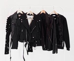 black, style, and jacket image