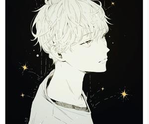 anime, stars, and art image