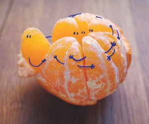 fruit, orange, and art image