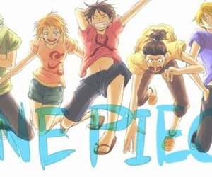 one piece, luffy, and usopp image