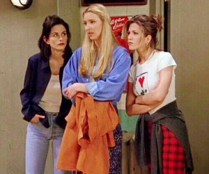 friends, 90s, and monica image