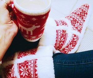 christmas, cofee, and Hot image