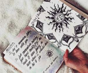 amazing, drawing, and boho image