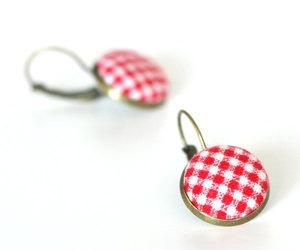 etsy, romantic jewelry, and handmade earrings image