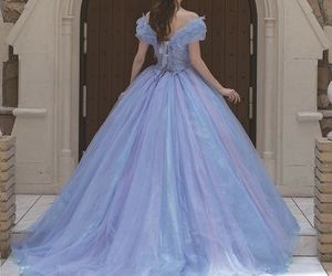 dress, gown, and princess image