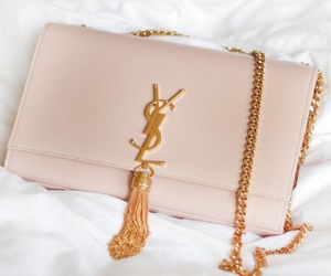 bag, fashion, and Yves Saint Laurent image