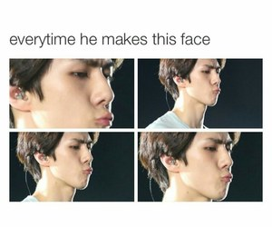 exo, meme, and kiss image