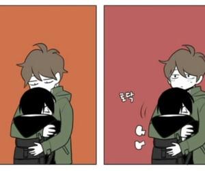 bl, Boys Love, and hug image