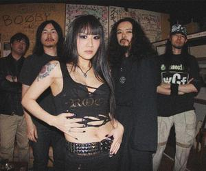 Black Metal, japan, and blackened death metal image