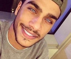 boys, blue, and eyes image