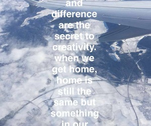 creative, flight, and quote image